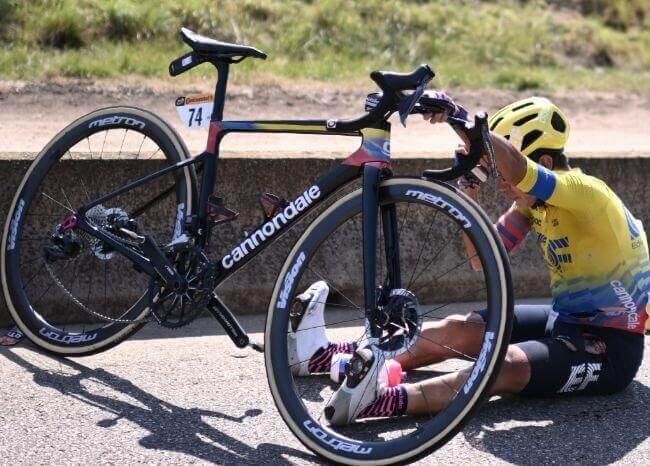 Sergio Higuita, Tour de Francia.