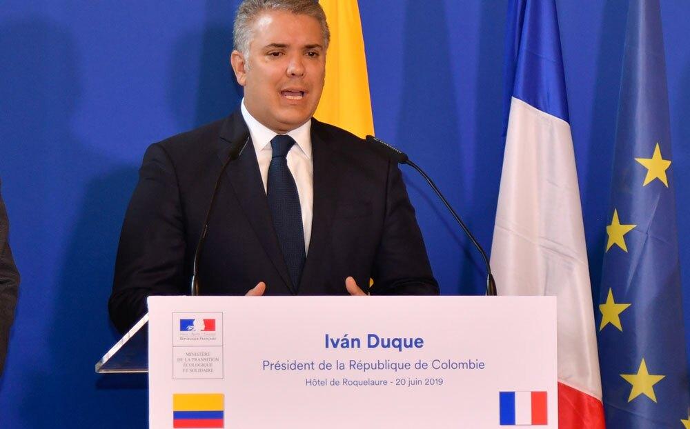 336955_BLU Radio. Iván Duque // Foto: Presidencia