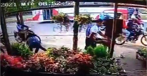 robo floristería en Argentina