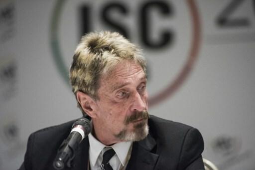 John McAfee, creador del antivirus, fue hallado muerto en su celda de Barcelona