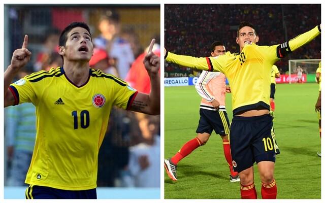 James Rodríguez vs Chile