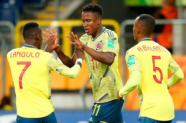 313990_Luis Sinisterra Selección Colombia Sub-20
