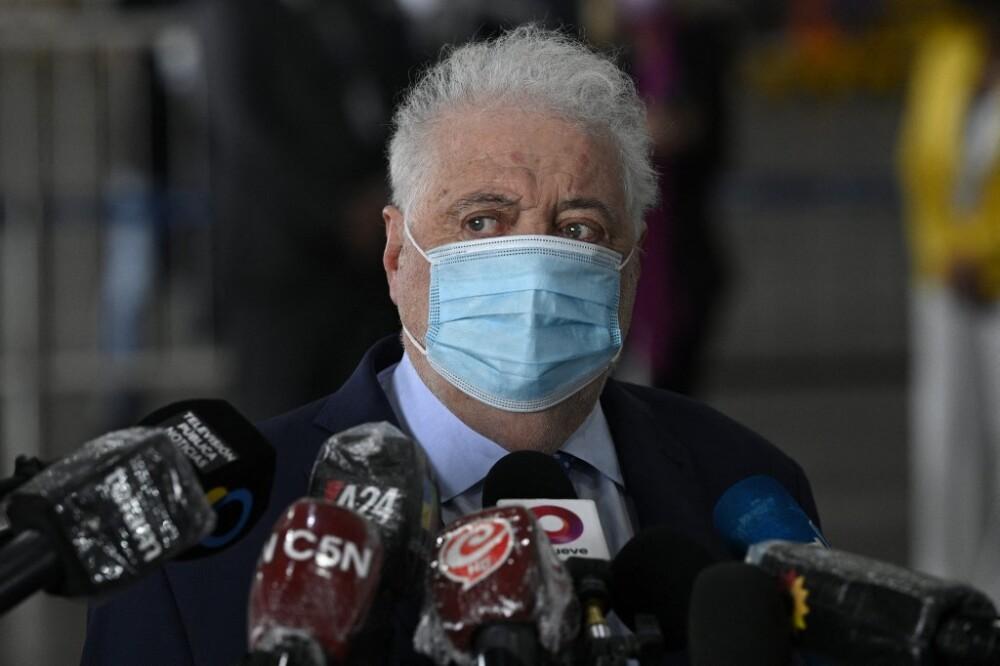 Exministro de Salud de Argentina Ginés González García.