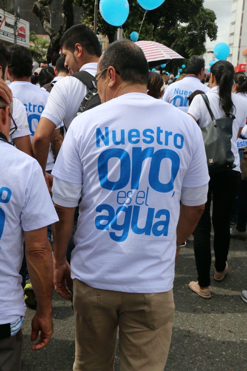 Promueven cátedra del agua para mostrar efectos de explotación minera en Santurbán