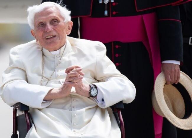 376699_Papa Benedicto XVI / AFP