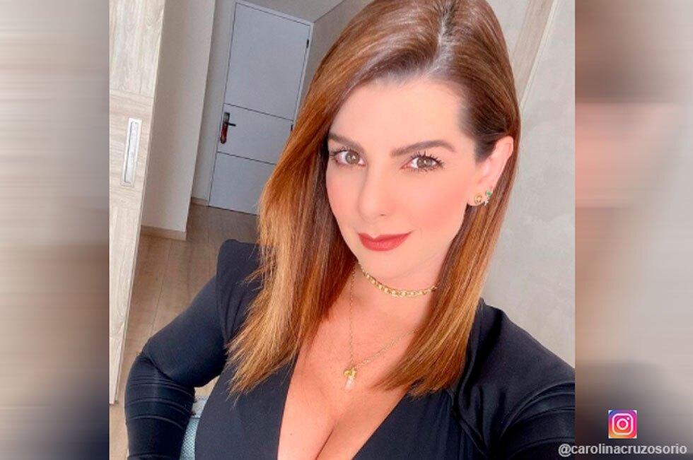 Presentadora Carolina Cruz