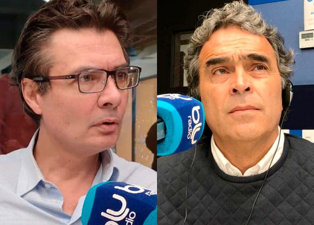 Alejandro Gaviria y Sergio Fajardo