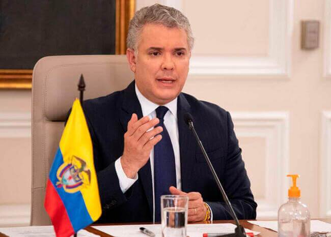 Iván Duque. Foto: Presidencia