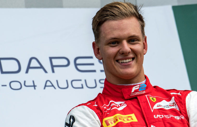 Mick Schumacher, piloto alemán.
