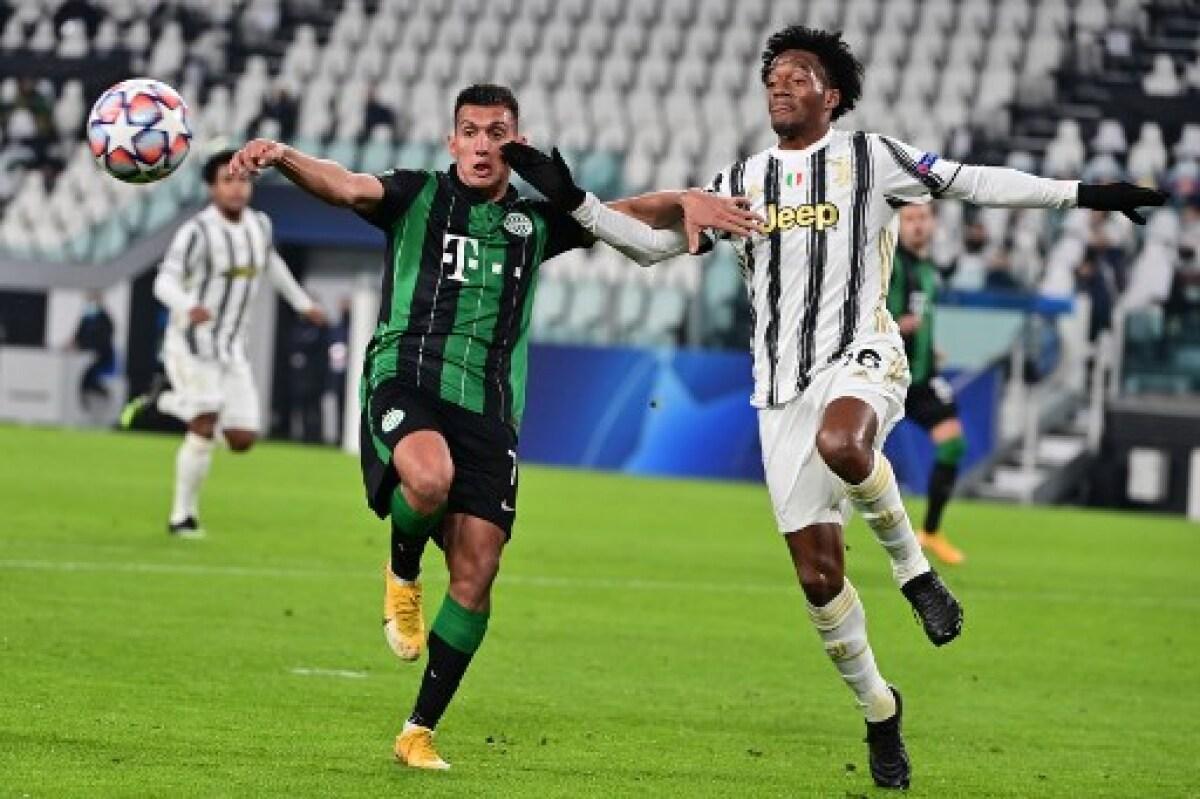 Juventus 2 vs. Ferencvaros 1: Álvaro Morata le dio la victoria sobre el  final a los italianos
