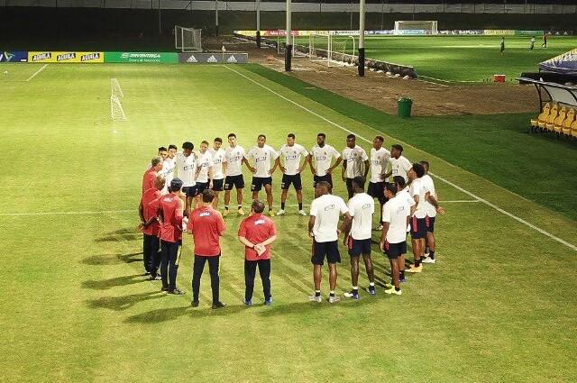 Selección Colombia entrenamiento