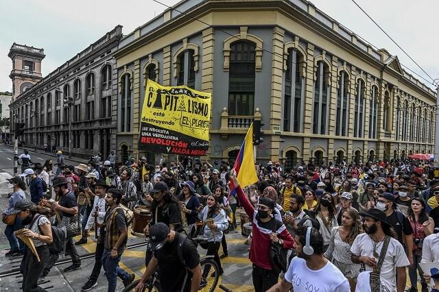 movilizaciones en Medellín este 20 de julio