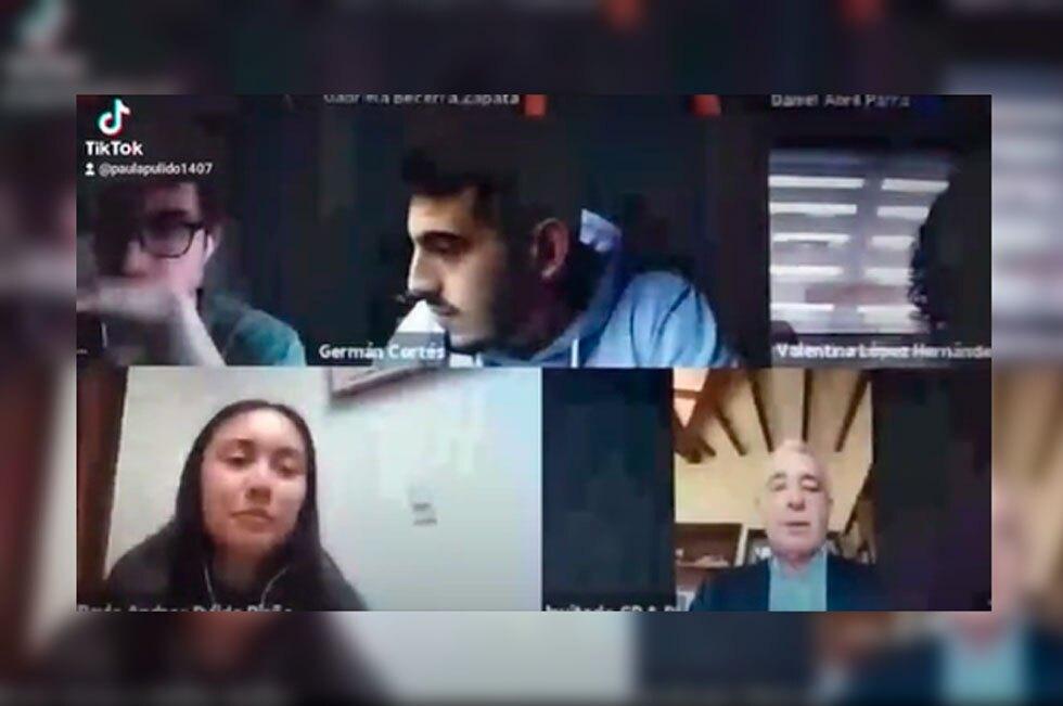 Álvaro Uribe invitado en clase virtual