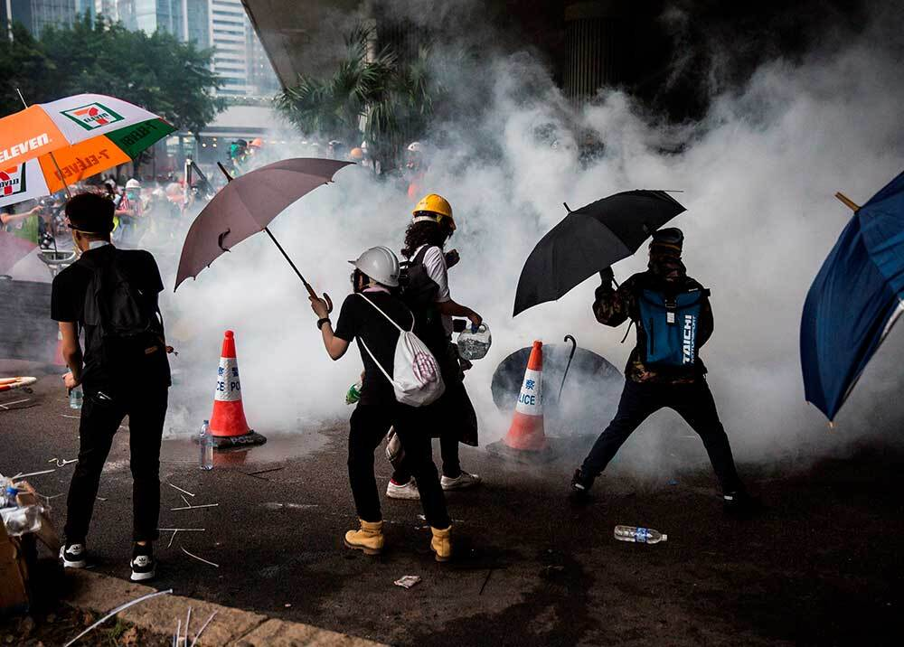 336108_Blu Radio // Protestas en Hong Kong // Foto: AFP