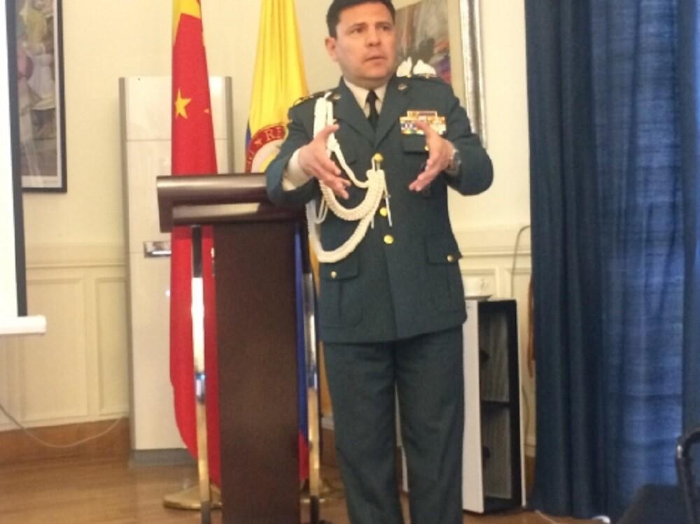 Coronel Pedro Javier Rojas Guevara. Foto: Cancillería