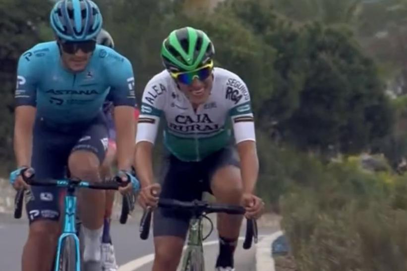 Jhohan García finalizó cuarto en la general de la Vuelta a Turquía.