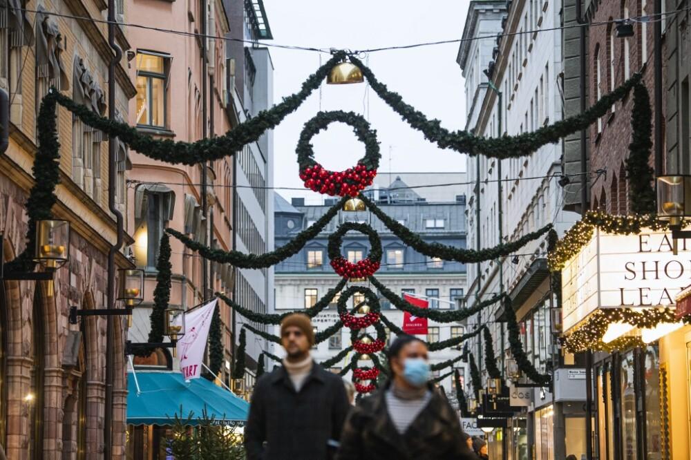 Crisis sanitaria en Suecia por la pandemia -AFP.jpeg