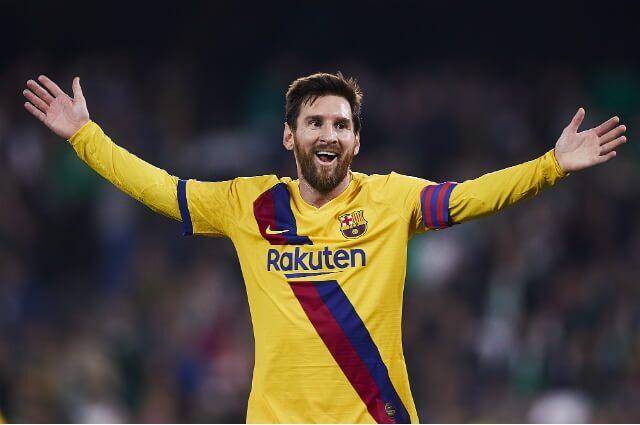 Lionel Messi, futbolista de Barcelona