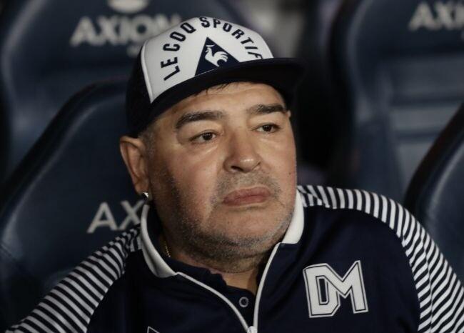 372213_Diego Maradona / AFP