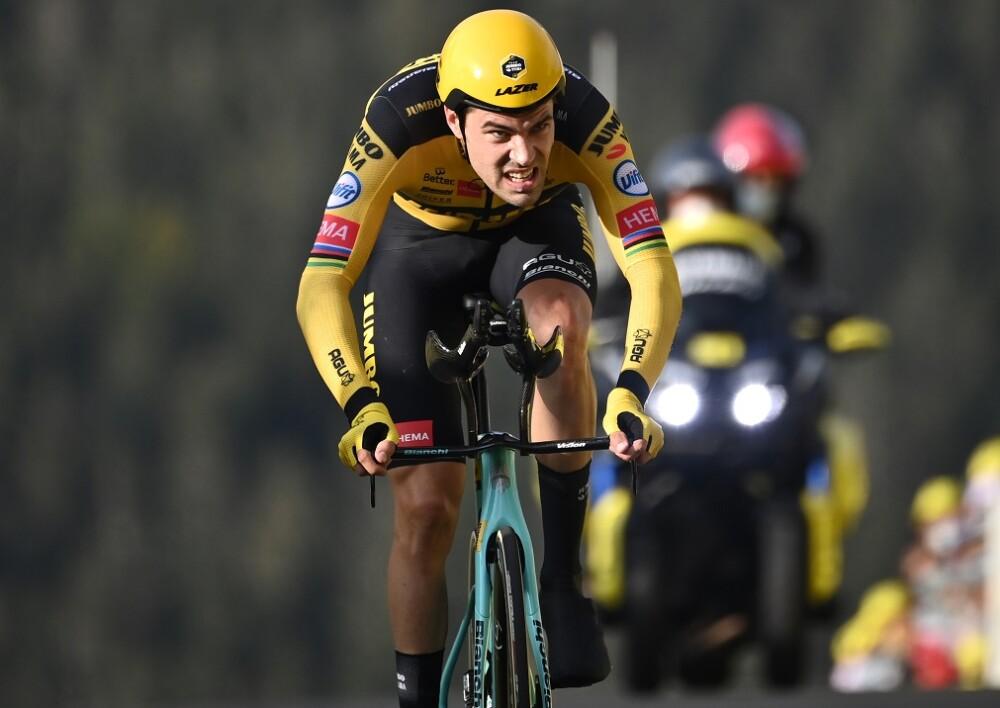 Tom Dumoulin. Foto: AFP