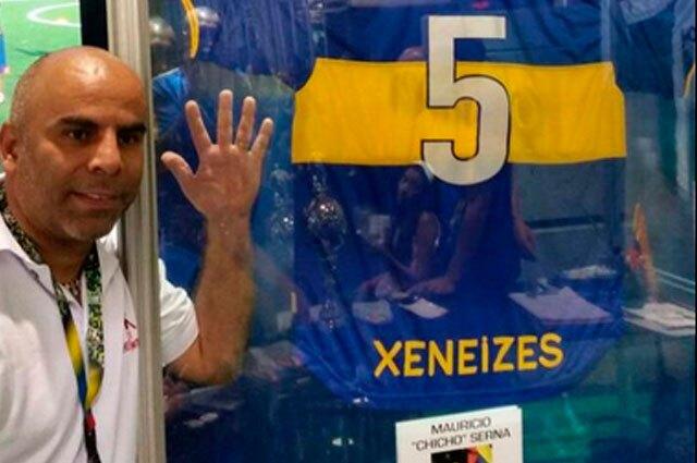 263672_Chicho Serna, en la baraja de Boca para ser su nuevo manager