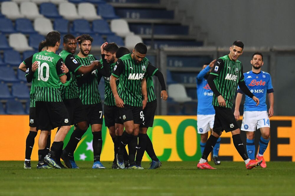 US Sassuolo  v SSC Napoli - Serie A