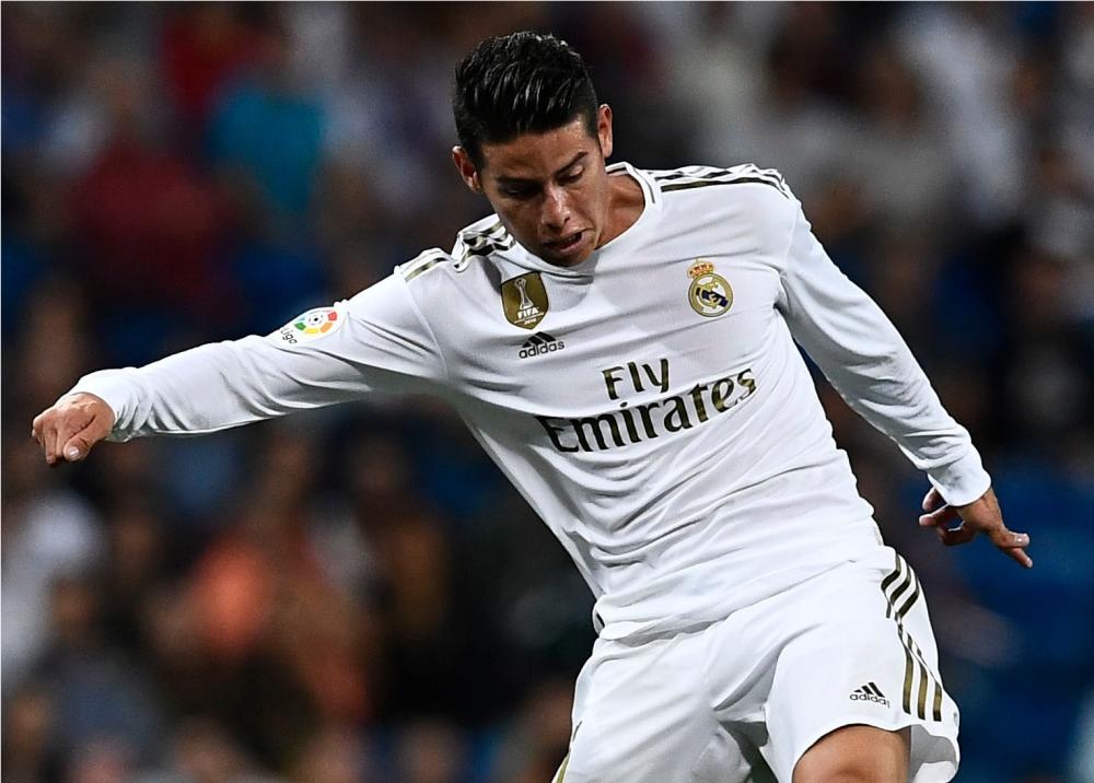344529_BLU Radio. James Rodríguez con el Real Madrid // Foto: AFP