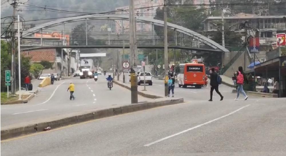 Vías de Antioquia / Foto: Captura de video