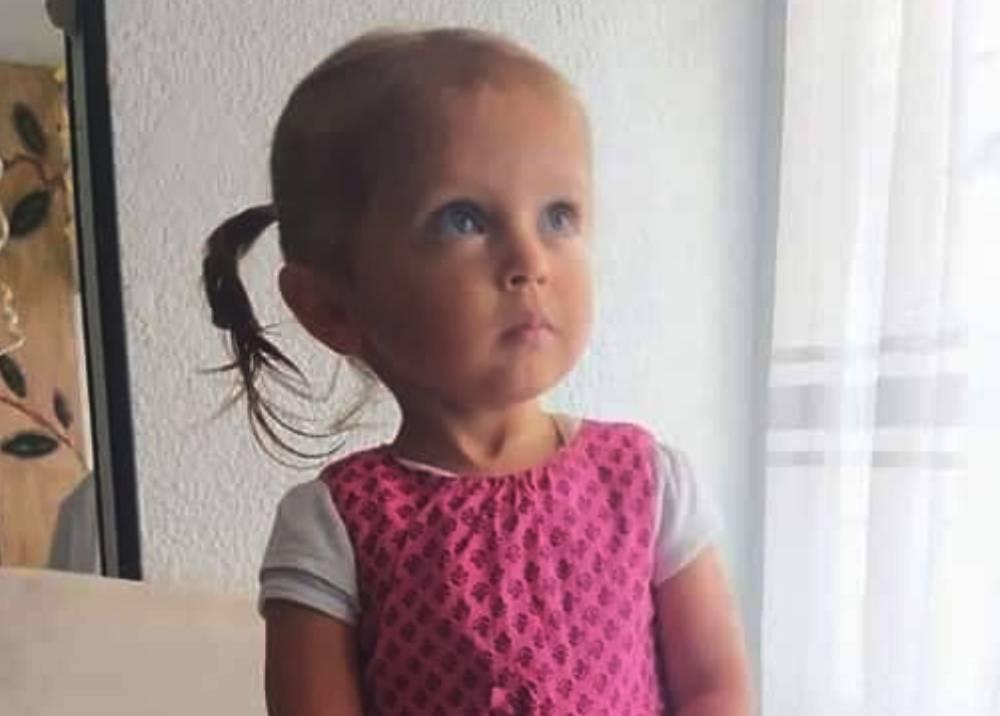 Sara Sofía Galván, niña desaparecida en Bogotá