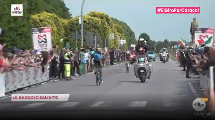 Esprint bonificado etapa 13 del Giro de Italia