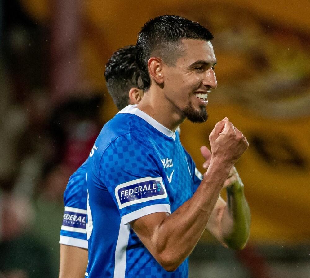 Daniel Muñoz, jugador del Genk de Bélgica. AFP.jpg