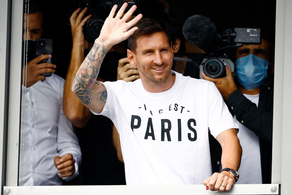 Lionel Messi en París