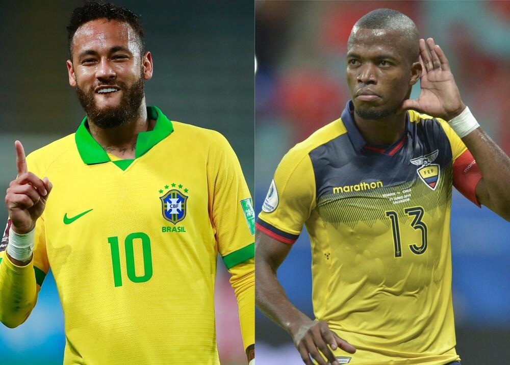 Selección Brasil y Ecuador referencia Foto AFP.jpg