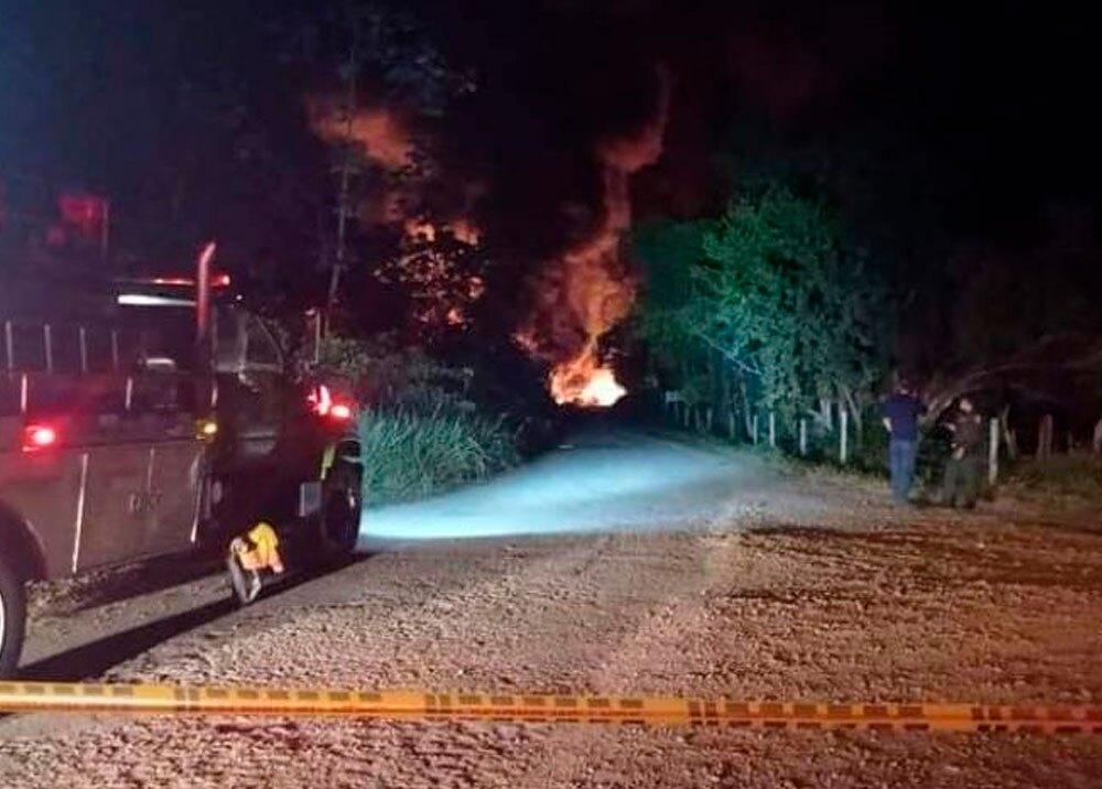 Explosiones en un campo petrolero de Barrancabermeja, Santander
