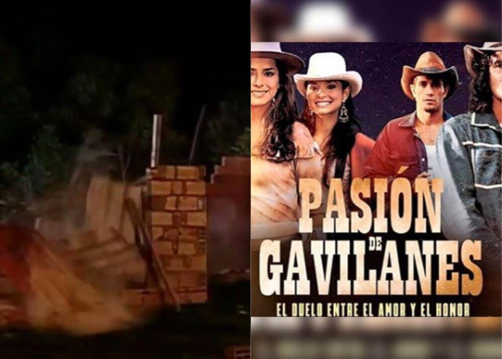 372599_Pasión de Gavilanes - Caída de cabaña - Foto: Caracol Televisión
