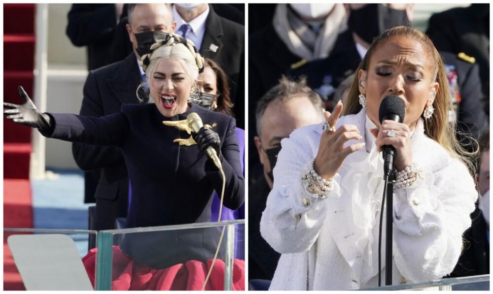 Lady Gaga y Jennifer López en la posesión de Joe Biden.jpg
