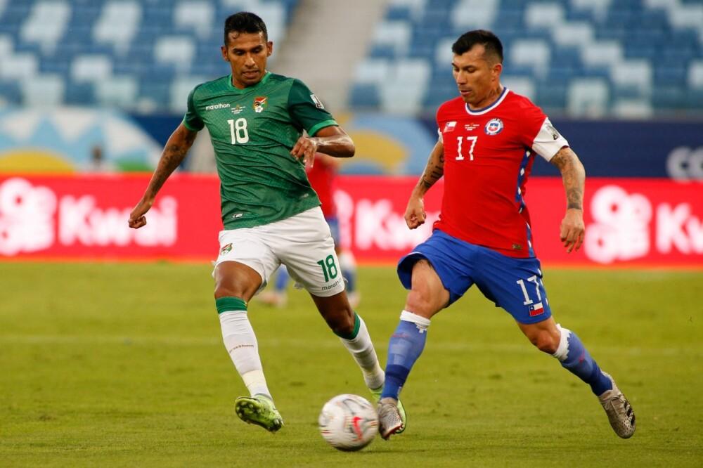 Selección Chile Bolivia AFP.