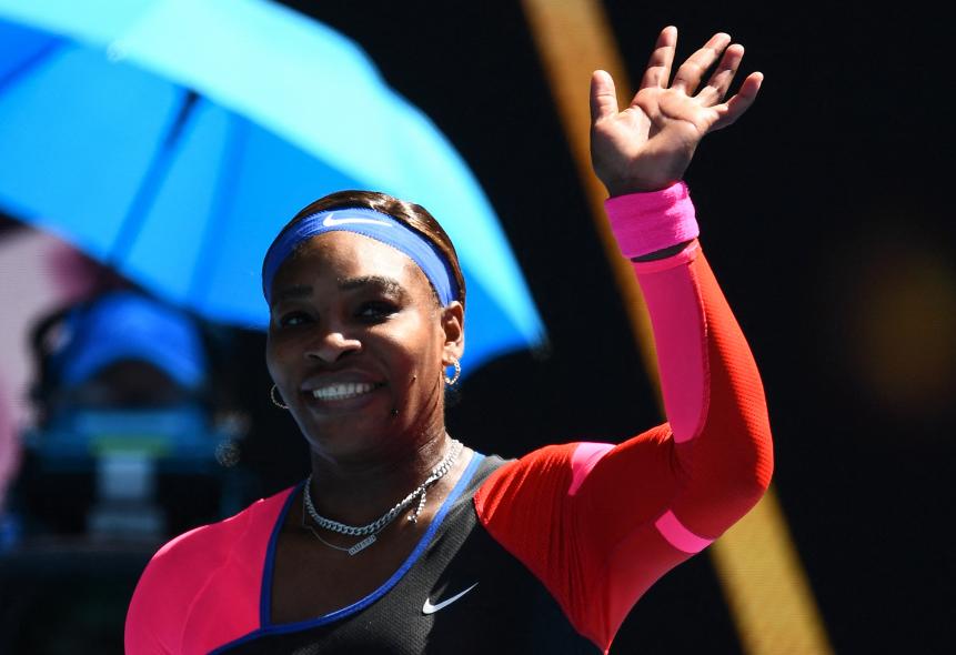 Serena Williams clasificó a cuartos de final del Abierto de Australia.