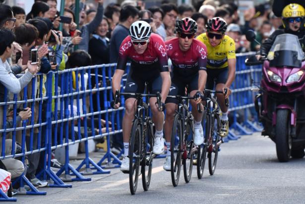 Egan Bernal y Chris Froome serán compañeros en el Tour de Francia