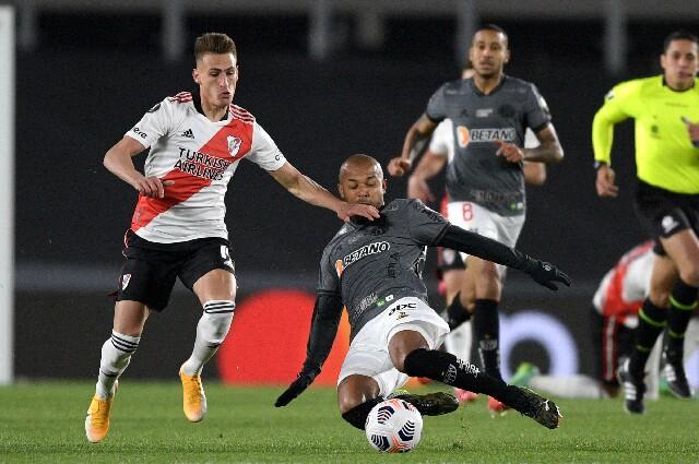 River Plate contra Atlético Mineiro, en la Copa Libertadores 2021