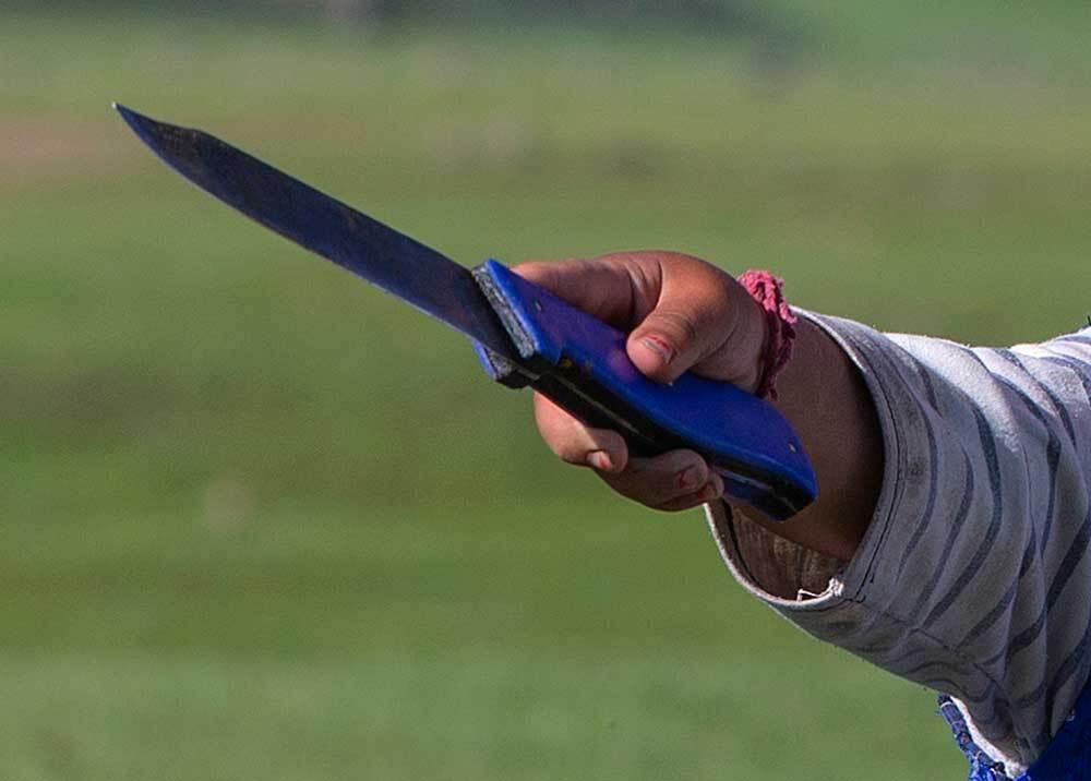 332358_BLU Radio // Ataque de niño con arma blanca // Foto: AFP, imagen de referencia