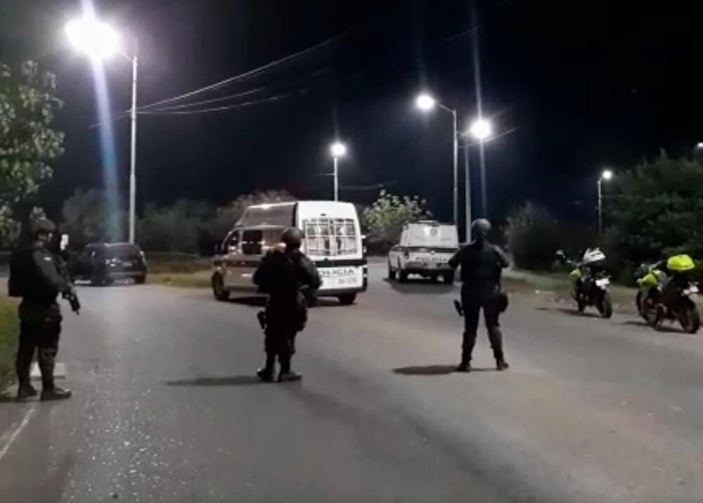 355527_Alerta en Cúcuta por acciones terroristas atribuidas al ELN // Foto: captura video BLU Radio