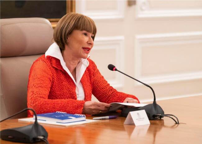 Alicia Arango. Foto Presidencia