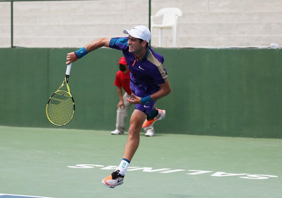 Nicolás Mejía ascendió al puesto 338 del ranking ATP.
