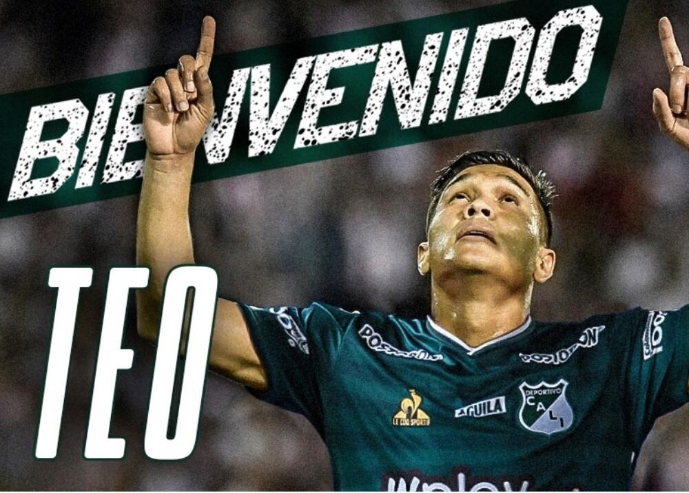 Teo en el Deportivo Cali Foto AsoDeporCali.jpg
