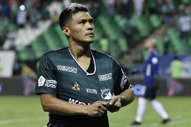 Teófilo Gutiérrez, en Deportivo Cali contra América de Cali