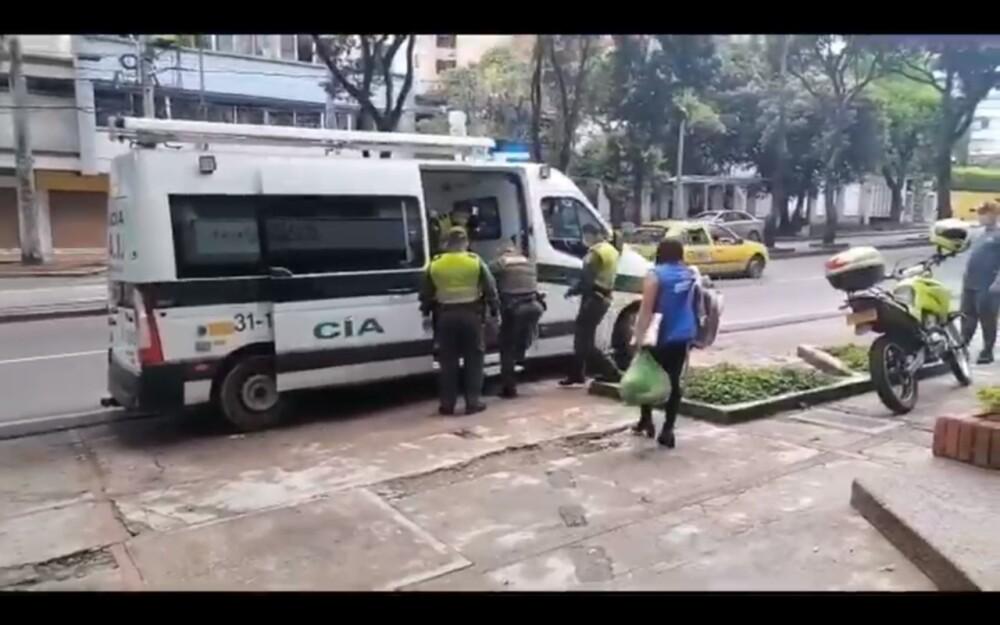 Rescate de abuelo en Bucaramanga