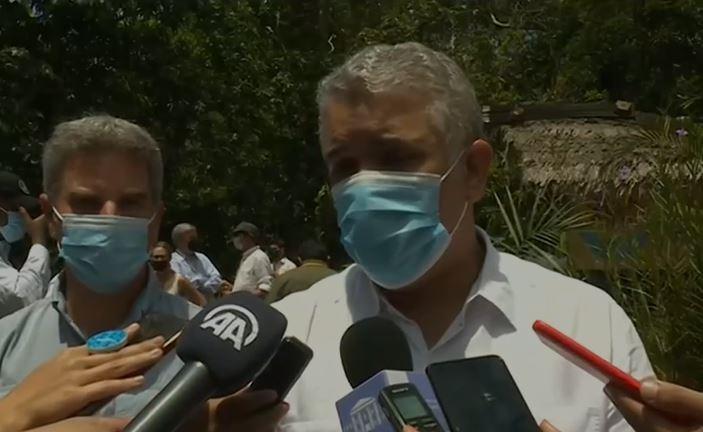 Iván Duque sobre acuerdo de Escazú.JPG