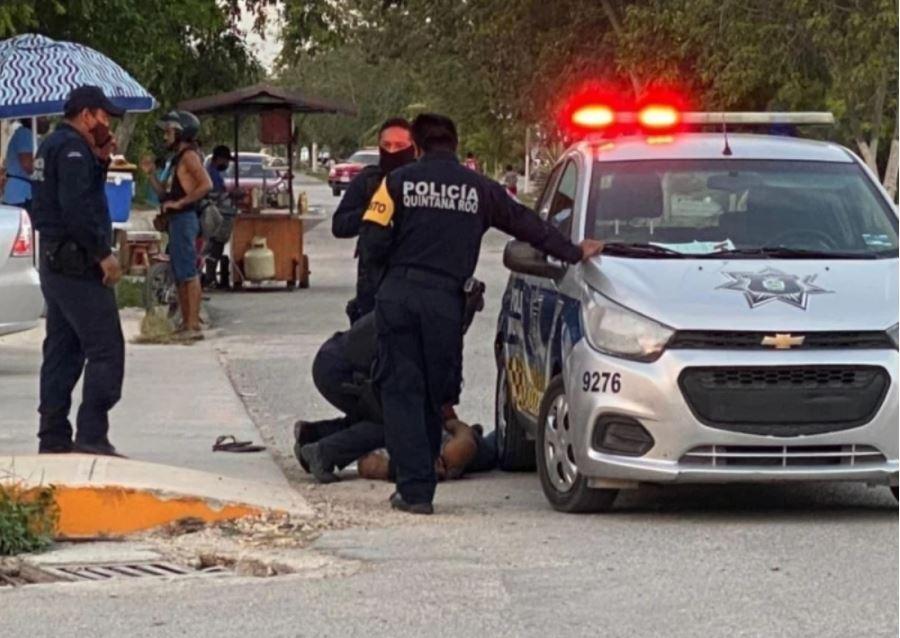 Mujer asfixiada en México por Policias.JPG
