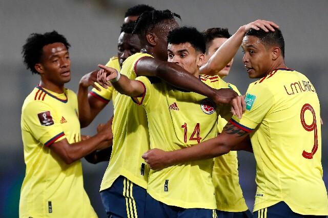 Itinerario de la Selección Colombia